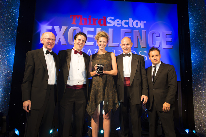 Sabre and Arup winning a third sector award