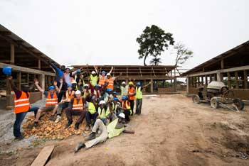 The Site team in Ghana