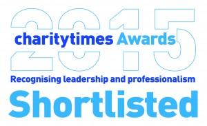 Charity Times shortlisting 2015 logo