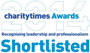 Charity Times shortlisted logo