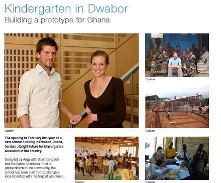 Kindergarten in Dwabor