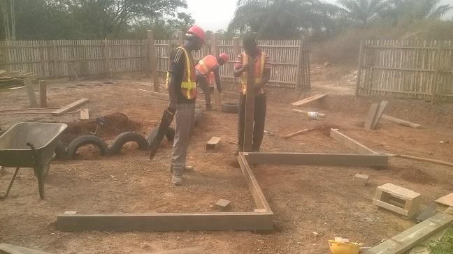 image: playground construction