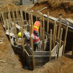 image: latrine pit formwork