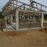 image: roof trusses at primary block
