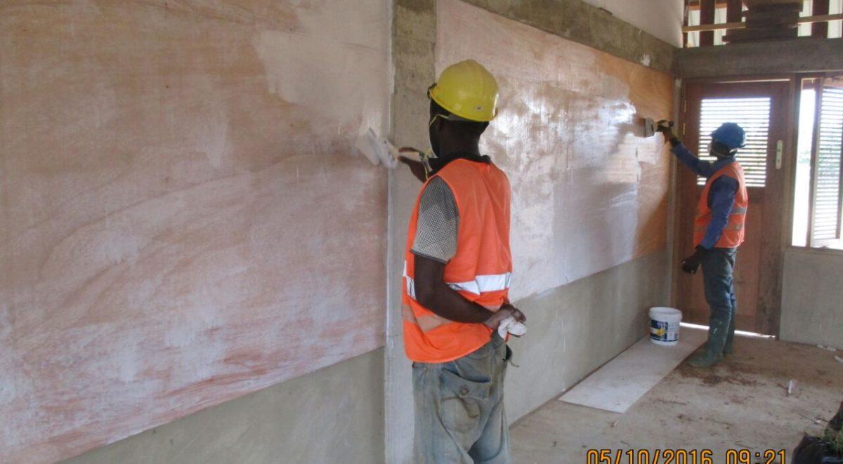 image: painting inside classroom