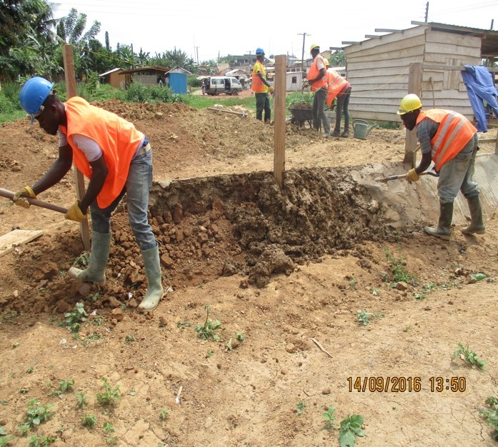 image: embankment being built