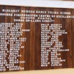 image: ahobre school donor wall