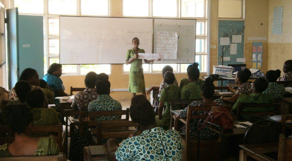 student teachers phonics