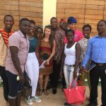 image students from Winneba University