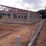 kindergarten concrete frame