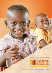 Sabre AR 2020 front page