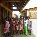 group of Ghanaian school staff