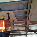 fixing plywood ceiling cladding