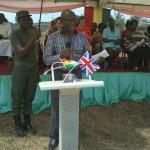 Prof Anamoah-Mensah addresses the participants