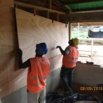 image: plywood internal cladding