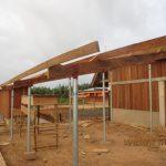 image: external teachin area underway