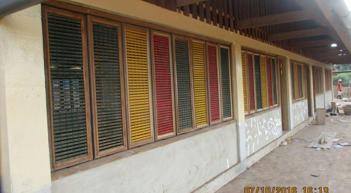 image: windows and external painting