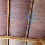 image: insulation inside classroom