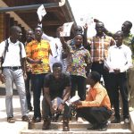 image: site team with certificates