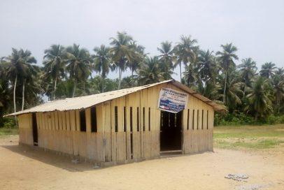 kindergarten school at Krisan-Sanzule