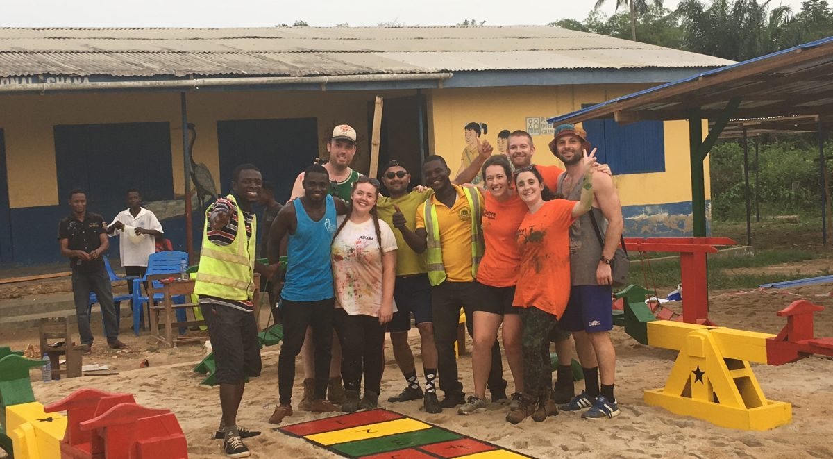 Ghana Exchange on site