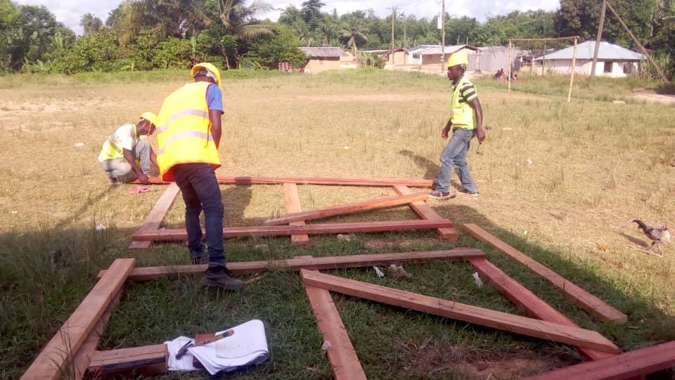 wooden trusses